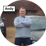 Andy - intensive driving course instructor for Maidstone School of Motoring