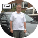 Paul - intensive driving course instructor for Maidstone School of Motoring