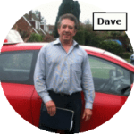 Dave - intensive driving course instructor for Maidstone School of Motoring